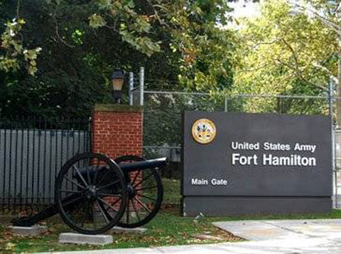Sign of Fort Hamilton