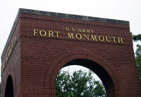 Mane Gate of Fort Monmouth