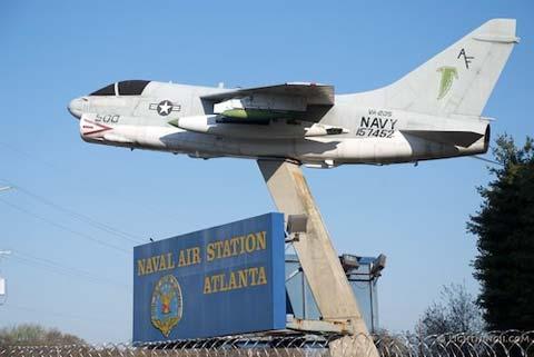 Atlanta naval air station