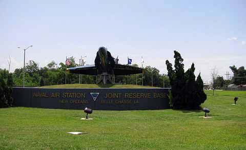 Monument at NAS JRB New Orleans