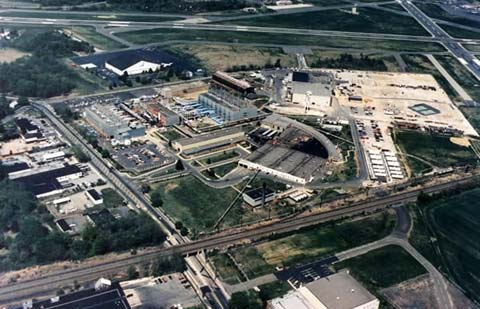 Areal View of Naval Air Warfare Center