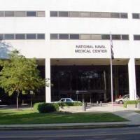 National Naval Medical Center Sign