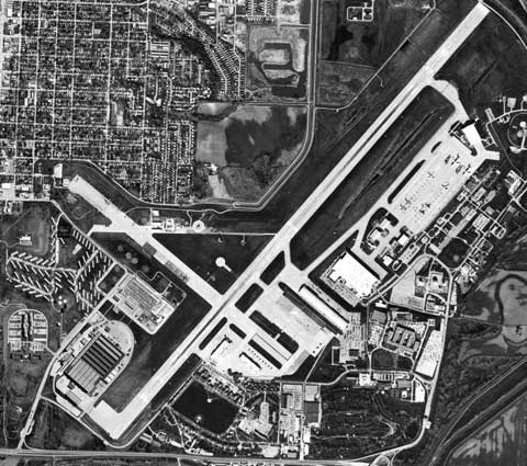 Areal View of Offutt Air Force Base