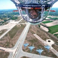 Military pilot shows maximum at Seymour Johnson AFB