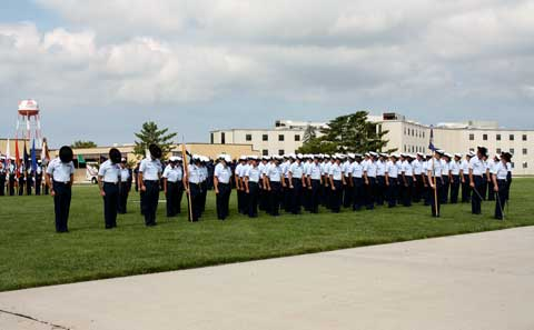 Soldiers at USCG Training Center Cape May