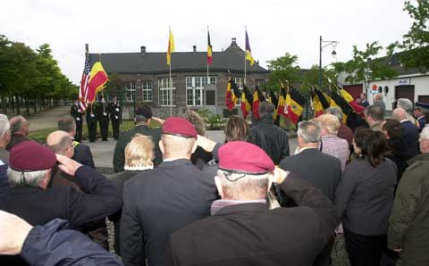 Soldiers at US Army Garrison Benelux