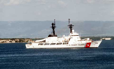 USCGC Boutwell WHEC-719