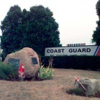 USCG Cope Cod Front Sign