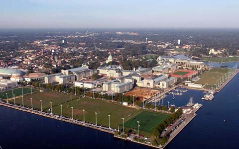 United States Naval Academy Areal