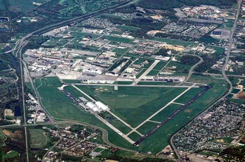 Areal View of Wright-Patterson AFB
