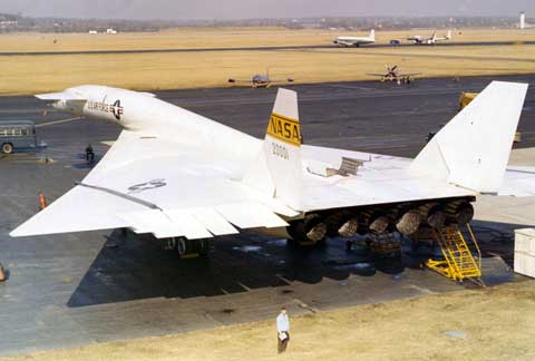 Famous plane at Wright-Patterson Air Force Base