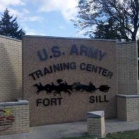 Sign of Fort Sill Army Base