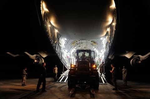 lakehurst transport plane
