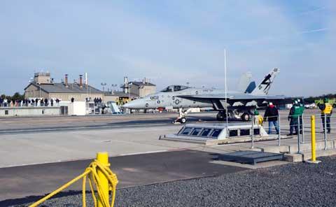 naval air engineering station lakehurst areal view