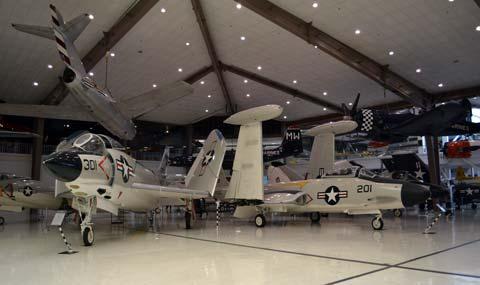 Inside NAS Pensacola museum