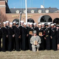 Soldiers graduation at Naval Support Activity Annapolis