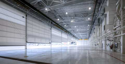 maintenance hangar of MCAS New River