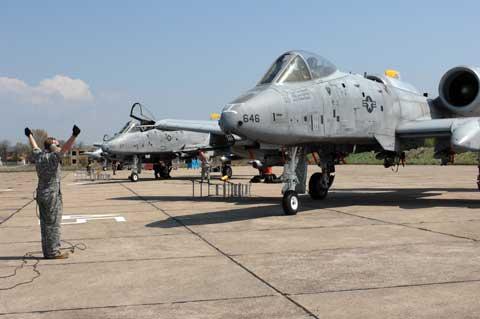 Bezmer Air Force Base Planes