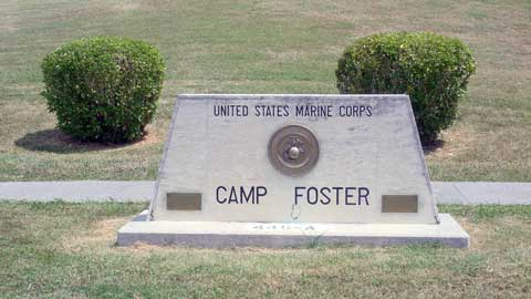 Sign of Camp Foster