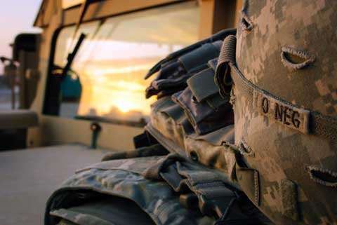 Art of military attribution at Combat Outpost Shocker