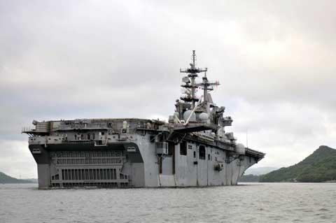 boat at Commander Fleet Activities Sasebo