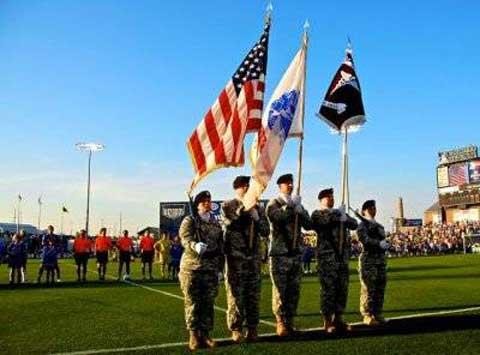 Soldiers at USAG Fort Leavenworth