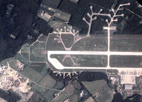 Overview of Geilenkirchen NATO Air Base