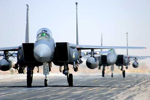 F15 planes at Joint Base Balad