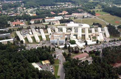 Areal View of Landstuhl Regional Medical Center