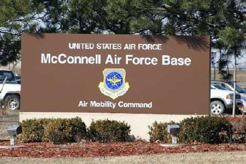 McConnell AFB Front Sign