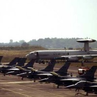 Military planes at Misawa Air Base
