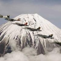 Planes near Naval Air Facility Atsugi
