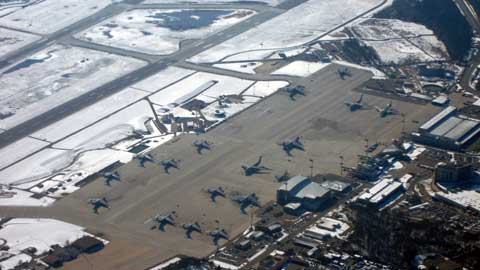 Overview of Ramstein Air Base