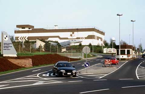 Main gate of Spangdahlem Air Base