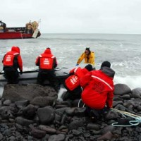 US Coast Guard National Strike Force working