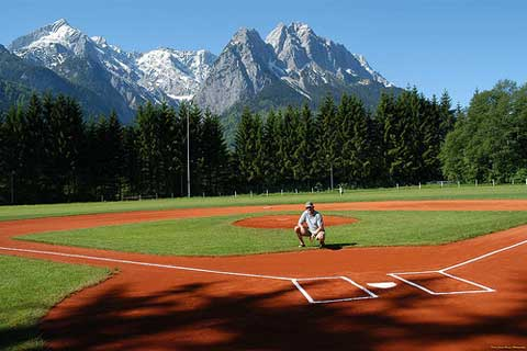 baseball field USAG Garmisch