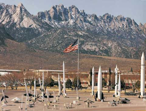 Museum at White Sands Missile Range