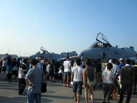 Aircraft at Yokota Air Base