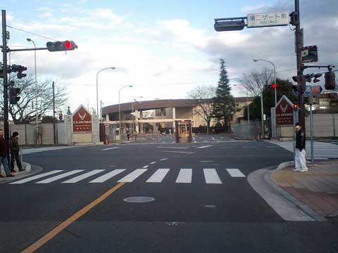 Gate at Yokota Air Base