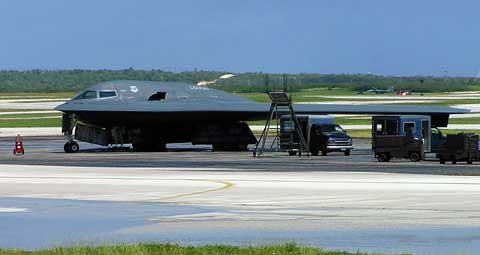 Andersen Air Force Base - Plane B2