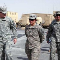 Soldiers at Al Udeid Air Base