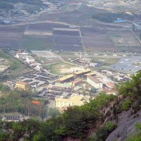 Areal view of Camp Stanley