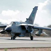 Plane at King Khalid air base