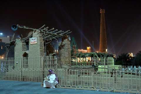 Inhabitant near Riyadh Air Base