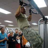 Soldiers training at USAG Daegu