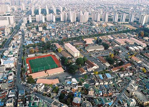 USAG Daegu Areal View