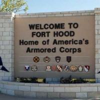 Fort Hood Entrance Sign