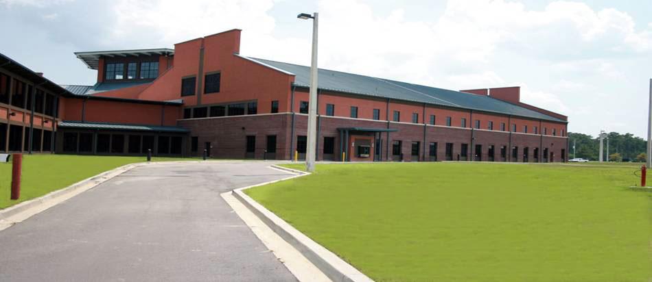 Naval Health Clinic Charleston building