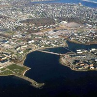 Naval Station Newport Areal View