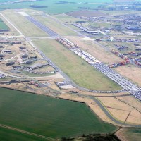 Royal Air Force Alconbury Areal View